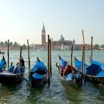 Venice. Gondolas — Stock Photo