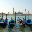 Stock Photo: Venice. Gondolas