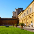 Stock Photo: Internal court yard of Vatican