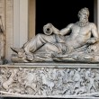 A sculpture Neptun in Vatican — Stock Photo
