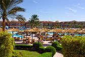 Egyptian hotel. — Stock Photo