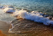 Waves on a Red sea — Stock Photo