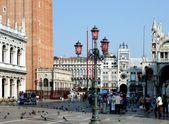 威尼斯。广场圣马尔科 — 图库照片