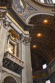 Basilica of St. Peter, Vatican, Italy — Stock Photo
