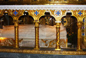 Sepulcher in Basilica of St. Peter, Vatican — Stockfoto
