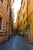 Streets of ancient Rome — Stock Photo