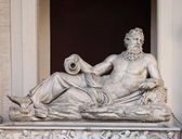 A sculpture Neptun in Vatican — Stock fotografie