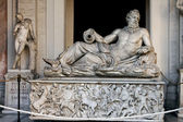 A sculpture Neptun in Vatican — Stockfoto