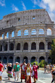Rome, Italy. Roman Amphitheatre Colosseum — Stock Photo