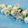 Постер, плакат: Elegant jewelry and lily of the valley