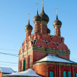 Christian Russian monasteries and churches — Stock Photo
