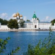 Постер, плакат: Christianity cathedral in Russia Kostroma city Ipatievsky monastery