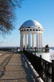 Zimní Rusko. město Jaroslavl — Stock fotografie