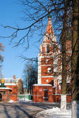 Christian Russian church Archangel Michail, Yaroslavl city — Stock Photo