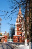 Christian Russian church Archangel Michail, Yaroslavl city — Stock Photo