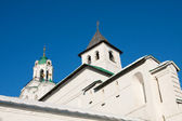 Christianity Russian monastery in Yaroslavl city - citadel — Stockfoto