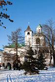 Christianity Russian monastery in Yaroslavl city - citadel — Stock fotografie