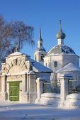 俄罗斯基督教修道院和教堂 — 图库照片