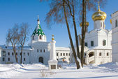 Ipatievsky monastery in Russia, Cradle of the house of Romanovs — Stock Photo