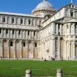 Cathedral complex in Italian city Pisa. Duomo di pisa — Stock Photo #38615645