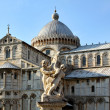 Stock Photo: Cathedral complex in Italicity Pisa. Duomo di pisa