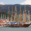 Stock Photo: Seand yachts. Turkey. Marmaris