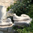 Old marble Foots — Stock Photo