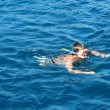 Stock Photo: Boy in Aegesea