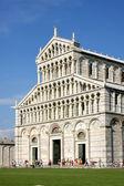 Cathedral complex in Italian city Pisa. Duomo di pisa — Stock Photo