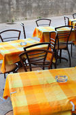 Cafe in Republic San Marino — Stock Photo