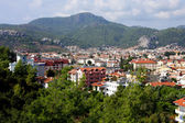The popular resort city of Marmaris in Turkey — Stock Photo