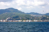 Aegean sea . Turkey. Marmaris city — Stock Photo