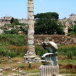 Stock Photo: Ancient greek temple of goddess Artemis in Ephesus