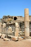 Antiquity greek city - Ephesus. — Stock Photo
