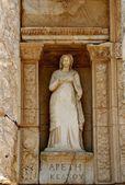 Antike griechische stadt - ephesus. — Stockfoto