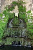 Italy.Tivoli. Villa d Este. Fountain — Stock Photo