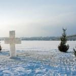 Kostroma city, ice cross — Stock Photo #38920155