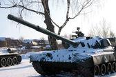 Парк Виктории, оборонной техники - танк — Стоковое фото
