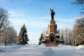 Russian town Kostroma city, monument Lenin — Stock Photo