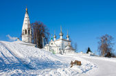 Russia, Kostromsky area, church in Sudislavl — Стоковое фото