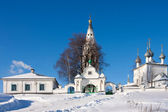 Russia, Kostromsky area, church in Sudislavl — Foto de Stock