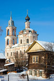 Christianity cathedral in homestead Shelykovo — Stock Photo