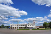 Railroad station in Kostroma city, Russia — Stock Photo