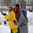 Winter holidays in Russia. Pancake week. — ストック写真 #39498125