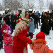 Winter holidays in Russia. Pancake week. — стоковое фото #39498285