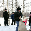 Winter holidays in Russia. Pancake week. — стоковое фото #39498337