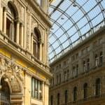 Постер, плакат: Italian city Naples Galleria Umberto