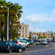 Stock Photo: Street and port, located in Cannes, French