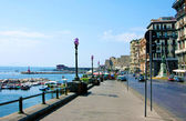 Bay of Naples, sea-front — Stock Photo