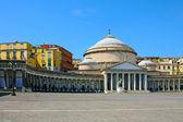 San francesco paola, Italia, Napoli — Foto Stock